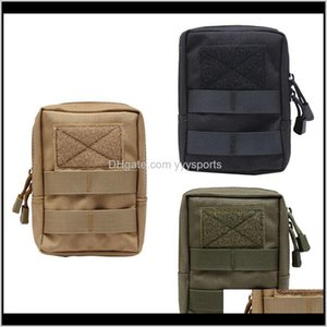 Accessories Tactical Molle System Medical 1000D Utility Edc Tool Accessory Waist Pack Phone Case Airsoft Hunting Pouch Ngeqr M6Omj