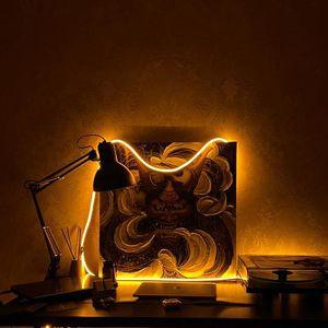 Touch باهتة ضوء النيون الصمام الشريط الشريط 1 متر 2 متر 3 متر 4 متر 5 متر ديود الشريط مع التوصيل عكس الضوء لشرائط المطبخ السرير