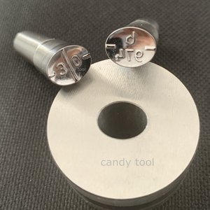 3D deep carved tool Milk Candy Tablet Die Press Die Candy Punch Set Custom Punch Customization Cast Press For Tablet TDP Machine