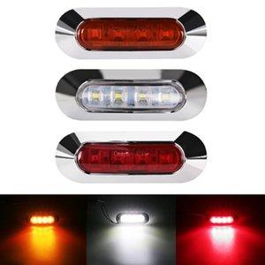 10 V-30V 4LED MARKER SIDE SACCHINATO AVVERTENZA LUCIDA LAMPADA RIMORCHIO RIMORCHIO LED luci di emergenza
