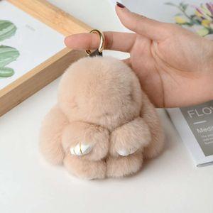 Dead Pendant Fur Car Keychain Mengmeng Rabbit Luggage Accessories