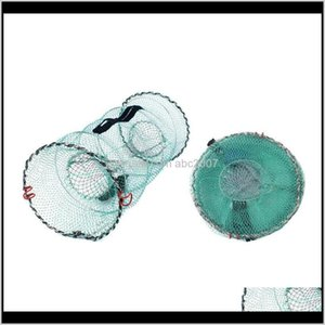 Accessories Fishing Basket Collapsible Crab Traps Portable Fine Mesh Lobster Cfish Shrimp Bait Nets Cjv7R Qyipt