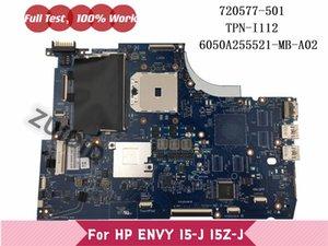 Motherboards 720577-501 720577-001 For ENVY 15-J 15T-J Laptop Motherboard 720577-601 TPN-I112 6050A255521-MB-A02 DDR3 100% Tested OK