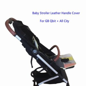 Stroller Parts & Accessories Baby Pram Leather Handle Covers For GB Qbit + All City Bar Sleeve Case Armrest Protective Cover