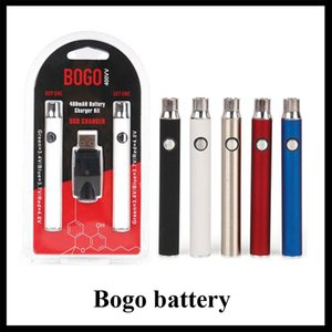 BOGO Battery Charger Kit Preheat Double Pen for 400mAh 510 Thread vaporizer Cartridges