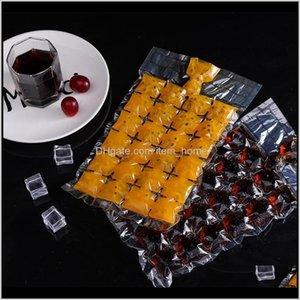 Other Kitchen, Dining & Bar Summer Maker Disposable Mold Ice Grid Bag 24 Grids A Pack Of 10 Pieces2Dnl 5Aw20 Eatp1