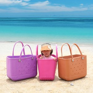 Сумки на открытом воздухе Пляж Очень Большой Leopard Печатные Корзины EVA Женские Мода Емкость Тотащие сумки Сумки Летние Каникулы