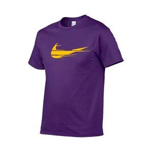 Männer Sport Polo Marke Druck T-shirt Sommerhülse Oansatz Freizeit Outwear T-Shirts atmungsaktiv lässig Männer T-shirt Kurze Ärmel S-XXL