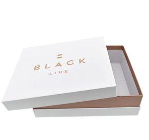 DIY Bulk Elegant Men Ties Clothes Packing Lid Off Neck Boxes Custom Logo Printed Hard Cardboard Packing Gift popular luxury Shoulder