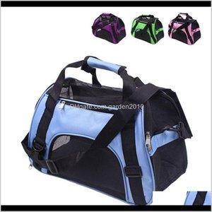 Carrier Folding Pet Carriers Bag Portable Knapsack Soft Slung Dog Transport Outdoor Bags Fashion Dogs Basket Handbag Rra1996 Shp1B Fm52H