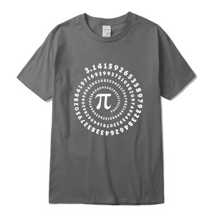 Mens T-shirt 100% cotton short sleeve Mathematical geometry printed men Tshirt o-neck street style cool funny loose T-shirtsoccer jersey