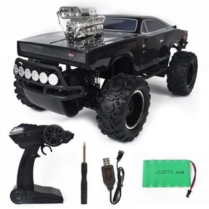 1/10 2.4G 4WD RC 원격 제어 자동차 고속 28 km / h 등반 도로 크롤러 차량 모델 RTR 장난감 도로 몬스터 트럭