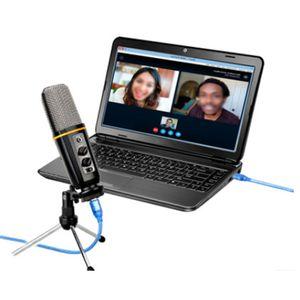 USB 마이크 컴퓨터 데스크탑 노트북 전문 녹음 및 방송 장비