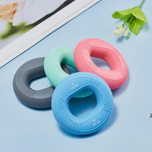 Dispositif Dispositif Silicone Grip Bague Professionnel Main Exercice Finger Réhabilitation Equipement Equipement ARM Muscle Training Train Grip Ball DHF6496