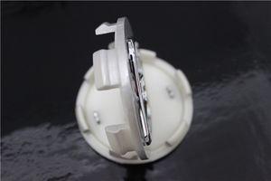 4 piezas emblema del coche Casquillo del cubo de la rueda 68mm tapa del cubo de plata Logotipo del coche Casquillo central decorativo para Honda Accord Civic CRV Odyssey
