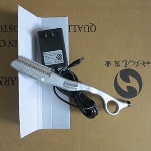 Lâmina de cabelo quente elétrica Tesoura Tesoura Sliver cor para uso pessoal e salão de cabeleireiro Ferramentas de extensão de cabelo profissional Qualidade superior