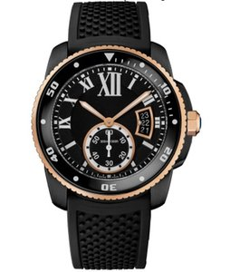 Top sell Stainless Steel Male watch for man new Fashion watch with date function rubber strap wristwatch 039