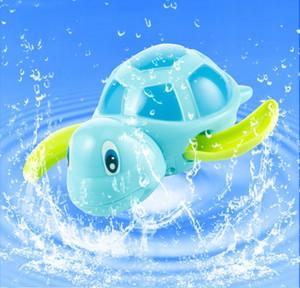 새로 태어난 아기가 거북이 상처를 입은 작은 동물을 수영 아기 어린이 목욕 장난감 고전 장난감 수영장 놀이 목욕 장난감