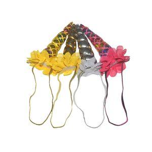 Baby Fashion Unicorno Diademi per Festival Halloween Natale Lovely Cat Orecchie Ragazze Hair Sticks Bambini Bow Bowband