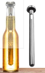 Nuovo arrivo in acciaio inox vino liquore refrigeratore di raffreddamento bastone di ghiaccio asta in bottiglia versatore birra refrigeratore bastone raffreddare alcol bevande ghiaccio vino freddo