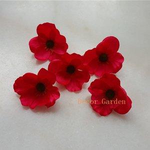All'ingrosso 7cm Simulazione Flower Head Artificiale Hydrangea Fake Silk Real Touch Hydrangeas per centrotavola da sposa Fiore decorativo del partito
