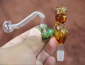 2015 Verkauf New Smoking Pipes Grinder Shisha Großhandel -Die Schönheit Glas Pfeifen Shisha Zubehör 10mm