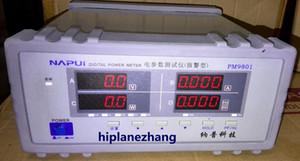 مقعد TRMS الجهد الحالي عامل الطاقة محلل عداد الطاقة اختبار إنذار PM9801