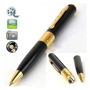 cámara de alta definición Mini Pen 1280 * 960 30fps de la pluma cámara de vídeo digital de voz grabador de vídeo pluma de la cámara web plata / negro