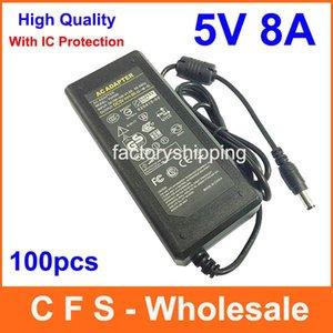 Caricatore 5V 40W dell'adattatore di 5V 40W dell'adattatore di CC di CA 5V 8A dell'alimentazione elettrica di alta qualità trasporto libero 100pcs