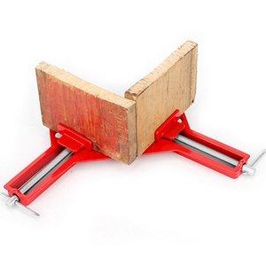 견고한 90 앵글 클립 DIY 코너 클램프 Quick Fixed Fishtank 유리 목재 그림 프레임 목공 직각
