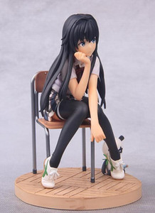 Japan Anime My Teen Romantic Commedia SNAFU Yukinoshita Yukino Action PVC Figure Model Toy circa 14cm con scatola
