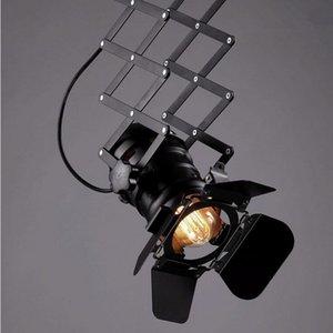 New Vintage Small Wall Light RH Loft l Lámparas para la decoración del hogar Restaurante Comedor E27 90V-240V diseño de la cámara droplight Envío gratis