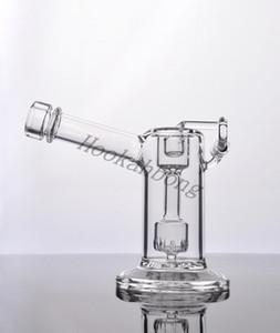 KAPAKLI kuvars salıncak cam sigara boru ile mini YENİ Yükseklik 14.5cm Glass'ın bonglar cam Mini bubbler