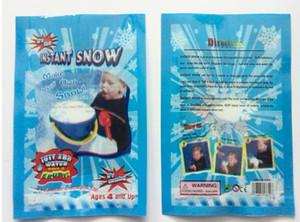 마법 스노 DIY 즉석 인공 눈 파우더 시뮬레이션 스노 수행 파티 파티 크리스마스 장식 어린이 소녀 소년 선물