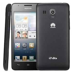 Ursprünglicher Huawei G520 4.5 Zoll IPS-Schirm Android OS 4.1 Smart-Phone Quad Core MSM8225Q 1,2 GHz Dual Sim WCDMAGSM Netzwerk