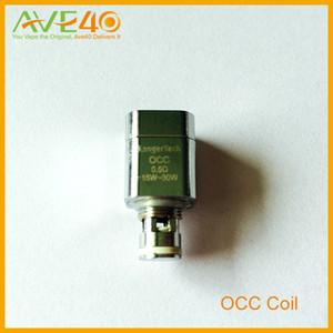 Горячо!!Kanger e сигареты Subtank OCC катушки органический хлопок катушки 0.5 ohm(15w-30w) 1.2 ohm (12w-25w) для subtank оригинальный бесплатная доставка от AVE40