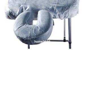 Trasporto libero posta di aria della cina posta 100 pz per lotto massaggio usa e getta montato copertura di riposo del viso, copertura del poggiacapo tavolo da massaggio