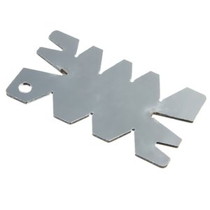 Stainless Steel Screw Thread Cutting Angle Gage Gauge Measuring Tool order<$18no track