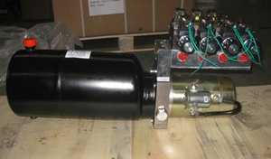 high quality manufacture factory 12vdc mini hydraulic Power packing Unites pump motor group cylinders