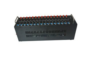Wholesale-SMS Gateway sim card bulk sms gsm gprs modem pool Wavecom Q2303 16 porte Sistema di ricarica USSD STK IMEI opzione modificabile