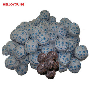 Preference 100g Yunnan Top-Grade-klebriger Reis Duft Reife Puer Tee-Kuchen Bio Natural Black Pu'er Tee Alter Baum Gekochte Puer Tee