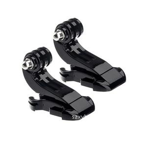 Aksiyon Kamerası Aksesuarları Göğüs kemeri, kafa bandı, kaskı J tipi taban tokası Hızlı takma J-tabanı plastik taban