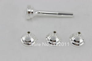 Size 3c 5c 7c 1.5c Trumpet Mouthpiece Trompete Trumpet Nozzle Set Silvering Plated In Stock Free Shipping