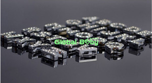 Free Shipping (260 Pieces lot) 10MM A-Z Full Rhinestone Slide Letters Charm DIY Accessories fit Pet Dog Collar