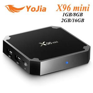 (ЕС налога бесплатно) X96 мини 7.1 для Android TV коробка 1GB8GB 2GB16GB S905W коробка Amlogic четырехъядерных смарт-телевизор коробка X96mini