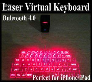 Teclado de láser virtual de venta más caliente con altavoz Bluetooth del mouse para iPad, PC para computadora portátil de iPhone6, computadora portátil a través de la conexión USB