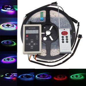 All'ingrosso-5050 RGB 150led / 5m Dream Color 133 cambia i tipi 6803 LED Strip light + RF full color controller