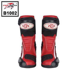 Free shipping NEW B1002 Motorcycle Boots Pro Biker SPEED Boots For Motorcyle Racing Motocross Boots BLACK RED WHITE