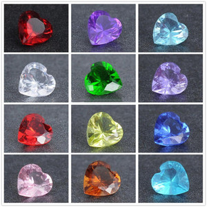 Wholesale-12 colori 5mm cristallo birthstones galleggianti charms per vetro Living medaglioni medaglione galleggiante charms 120pcs / lot