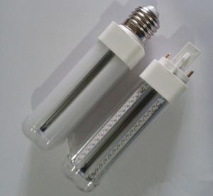 브랜드의 새로운 12W G24 / E27 LED PL 옥수수 전구 램프 Bombillas 빛 SMD 2835 스포트 라이트 360도 AC85-265V